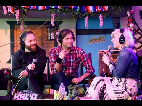 Death Cab For Cutie Interview at KROQ Weenie Roast Y Fiesta 2015