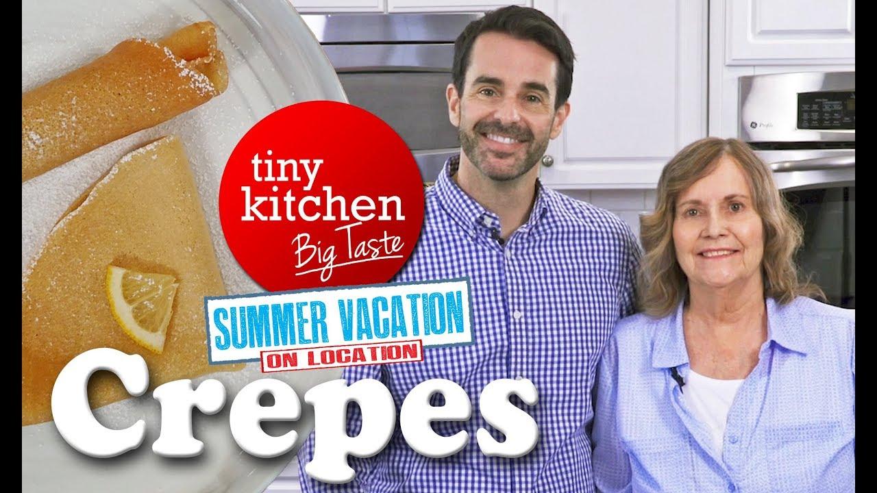 Crepes // Tiny Kitchen Big Taste - YouTube