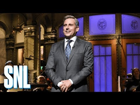 Steve Carell Returns to SNL Monologue - SNL