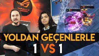 Yoldan Geçenlerle 1 vs 1 🏆 LoL   2019