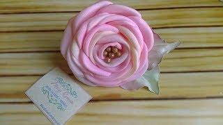 Aprenda Fazer Rosas Usando Fita