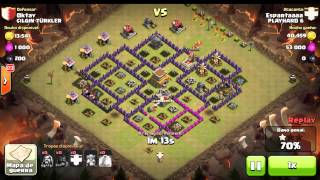 Playhard 6 nas guerras do Clash of Clans