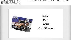 Secured Auto Loan in Central Texas