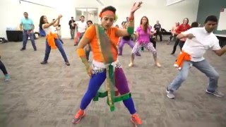 """Gulabo"" - Bollywood Fitness Dance -""Shandaar"" Group Fitness Day, Cisco USA, Jan 26"
