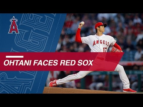 Shohei Ohtani struggles on mound against the Red Sox