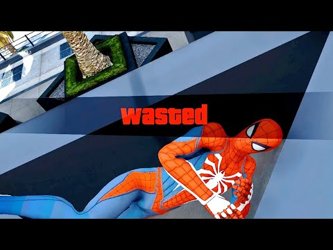 GTA 5 Epic Wasted Compilation SPIDERMAN Flooded Los Santos ep.83 (Funny Moments)