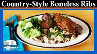 How I make Braised Country Style Boneless Pork Ribs