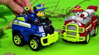 PAW Patrol Unboxing: Alle Spielzeugautos von Ryder, Chase, Feuerwehrmann Marshall, Skye & Rubble