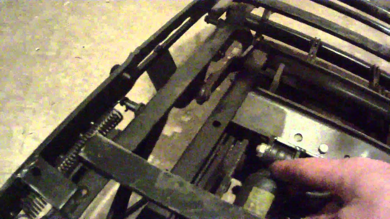 Видеообзор пневматического сиденья ISRI co скании