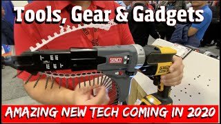 Amazing New tools, Gear & Gadgets coming in 2020!  Including Never SEEN Power tools & hand tools