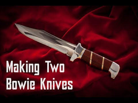 Making Two Bowie Knives