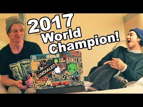 DANTE HUTCHINSON SCOOTER EDITS! (2017 WORLD CHAMPION)