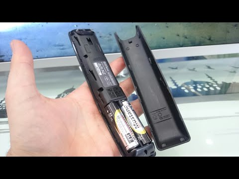Samsung ONE REMOTE control  PAİRİNG - RESET // BATTERY CHANGE