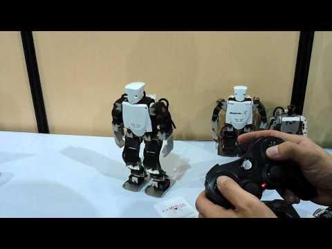 VStone's Robovie-X CES 2011