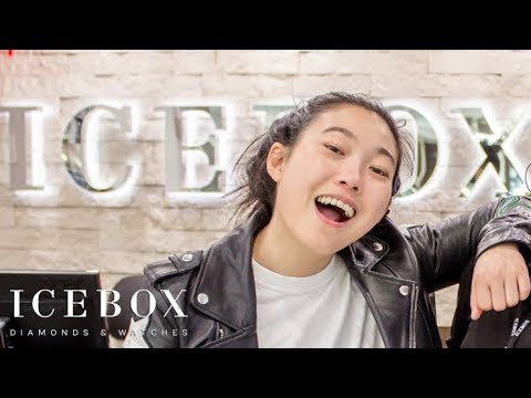 Awkwafina Comes To Icebox To Get That REAL WATER!