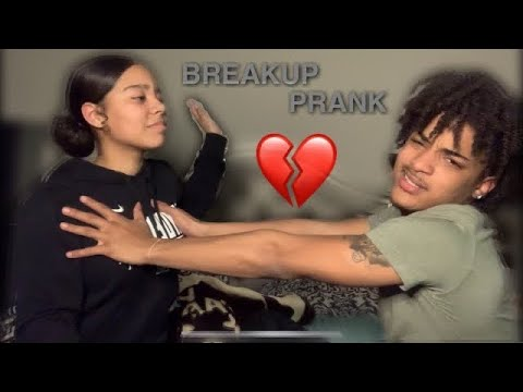 Download BREAKING UP PRANK ON GIRLFRIEND (SHE GETS CRAZY)