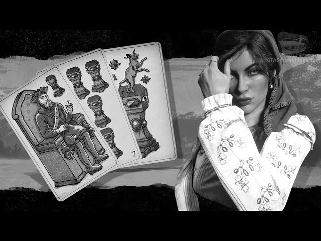 Red Dead Online Tarot Card Locations: All Collector Suit of