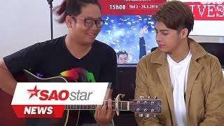 Noo Phước Thịnh biễu diễn Cause I love you phiên bản Acoustic trong buổi Livestream [SAOSTAR.VN]