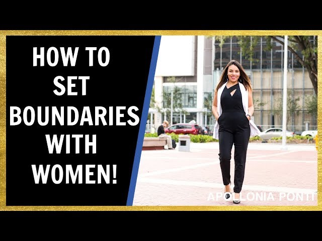 How To Set Boundaries In Relationships! #1 Key To A Healthy Relationship!