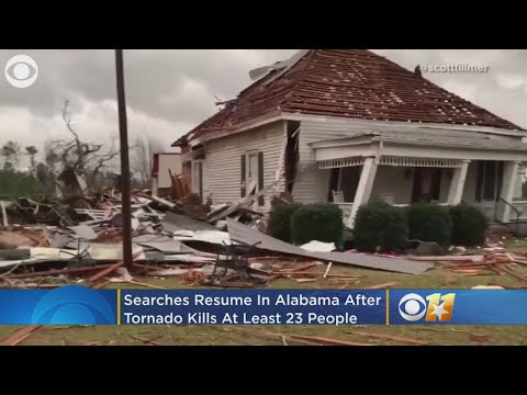 Searches Resume In Alabama After Tornado Kills At Least 23 – Local News Alerts