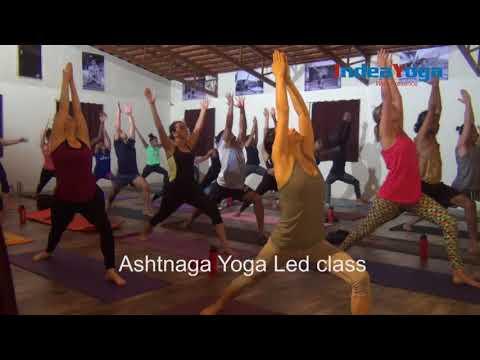 Ashtanga yoga led class  Indeayoga Mysore