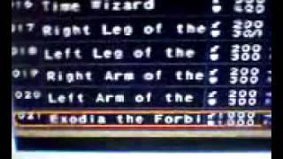 Yu-Gi-Oh! forbidden memories, estrellas infinitas sin game shark.