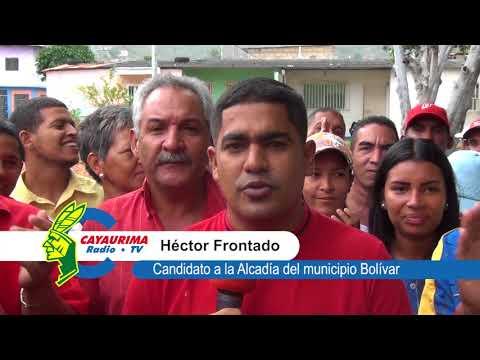 Candidato De La Patria A La Alcaldía Del Municipio Bolívar Héctor Frontado Ejerce Su Derecho Al Voto