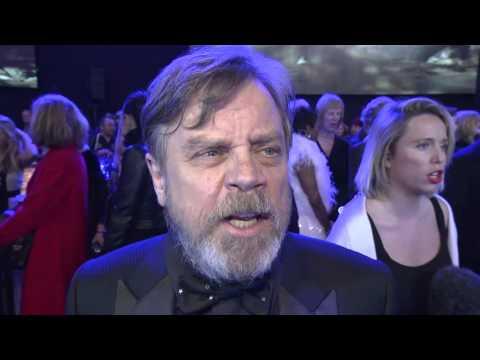 Star Wars The Force Awakens European Premiere Interview - Mark Hamill