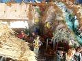 Christmas house's,Nativity Scenes,Nativities;Angora family Nativity 2018,Nativities Around The World