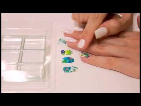Как клеить водные наклейки. Слайдер-дизайн