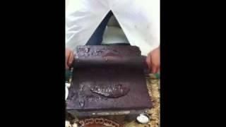 Chocolate hecho en metate por alumnos de ESGAMEX