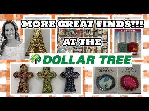 MORE GREAT NEW CRAFTING Items at the DOLLAR TREE | AMAZING FINDS