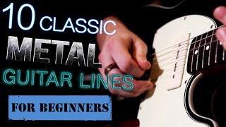 Classic Metal Guitar Lessons
