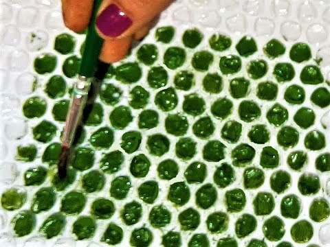 Easy 5 Minute Craft with Bubble Wrap / Bubble Wrap Home Decor Ideas / Best out of Waste