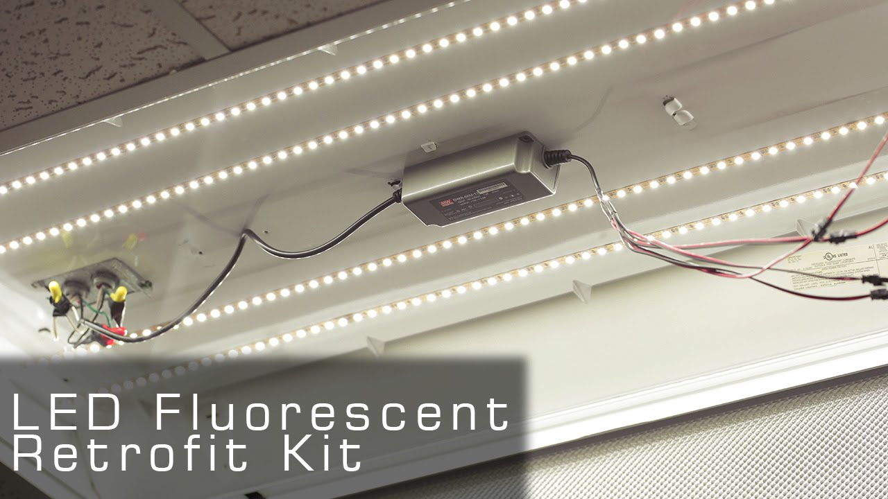 small resolution of ul listed led fluorescent retrofit kit rather led tubes