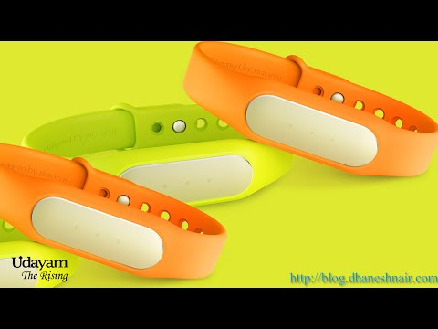 Xiaomi mi band - Unboxing, Review and Installation
