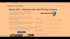 Oklahoma City Movers - Best OKC Moving Company