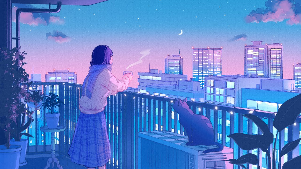 neon dreams. [lofi / jazzhop / chill mix]