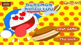 Doremon phiêu lưu ăn bánh rán - cu lỳ chơi game #31 - Doraemon Adventure funny gameplay