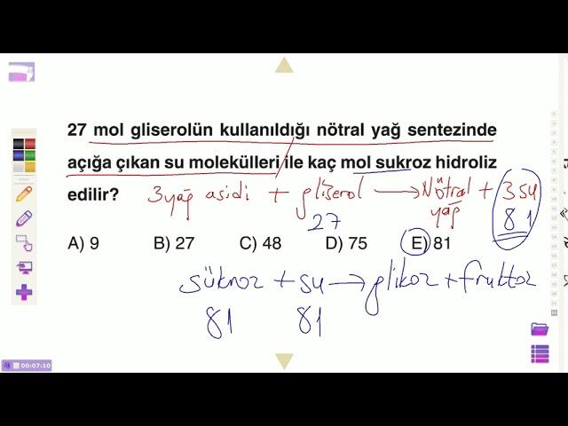 9.s?n?f ya?lar soru çözümü