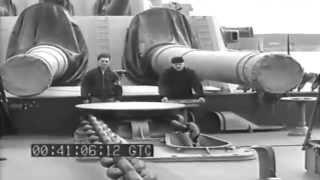 Admiral Stark etc, USS South Dakota (BB-57), Scapa Flow, 08/1943 (full)
