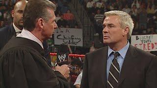 Mr. McMahon fires Eric Bischoff: Monday Night Raw, Dec. 5, 2005 (WWE Network Exclusive)