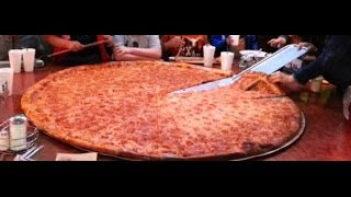 The biggest pizza in the world!