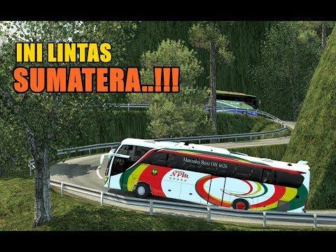 NPM MB1626 Rute Pulau Jawa - Pulau Sumatera  | ets2 mod Bus Indonesia