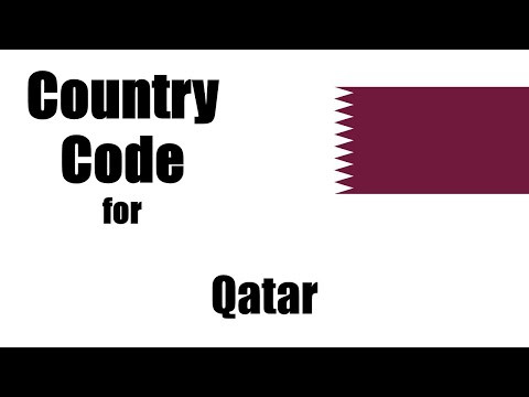 Qatar Dialing Code - Qatari Country Code - Telephone Area Codes In Qatar