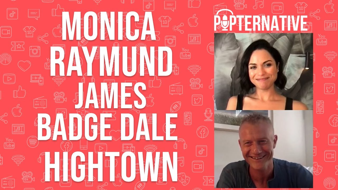 Download Monica Raymund and James Badge Dale talk about season 2 of Hightown on Starz and more