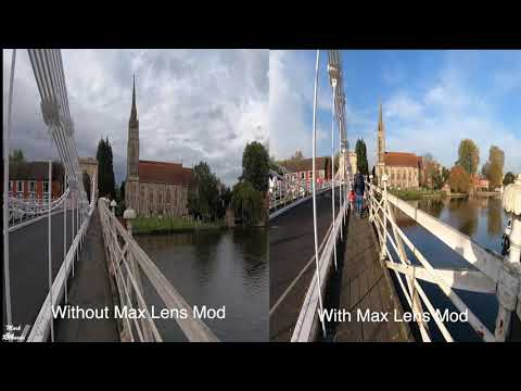 MAX LENS MOD - A few Clips With and Without on the GoPro9 (taken on different days)