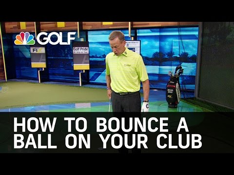 How to Bounce a Ball on your Club   Golf Channel
