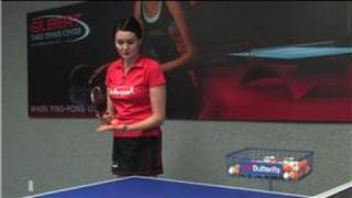 Table Tennis : How to Serve a Ping Pong Ball