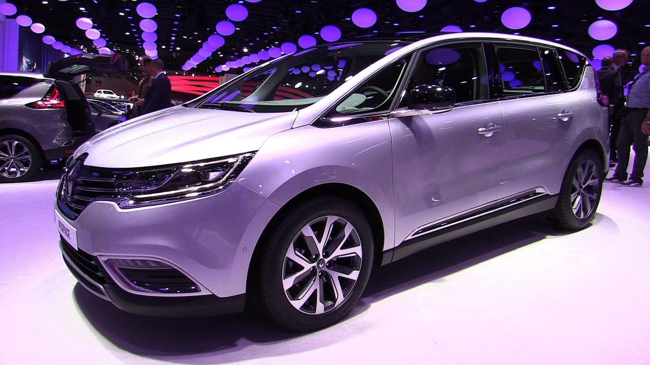 2015 renault espace exterior and interior walkaround. Black Bedroom Furniture Sets. Home Design Ideas